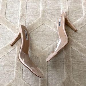1ab495c19bf Steve Madden Shoes - Steve Madden Erin Clear Stiletto Sandals
